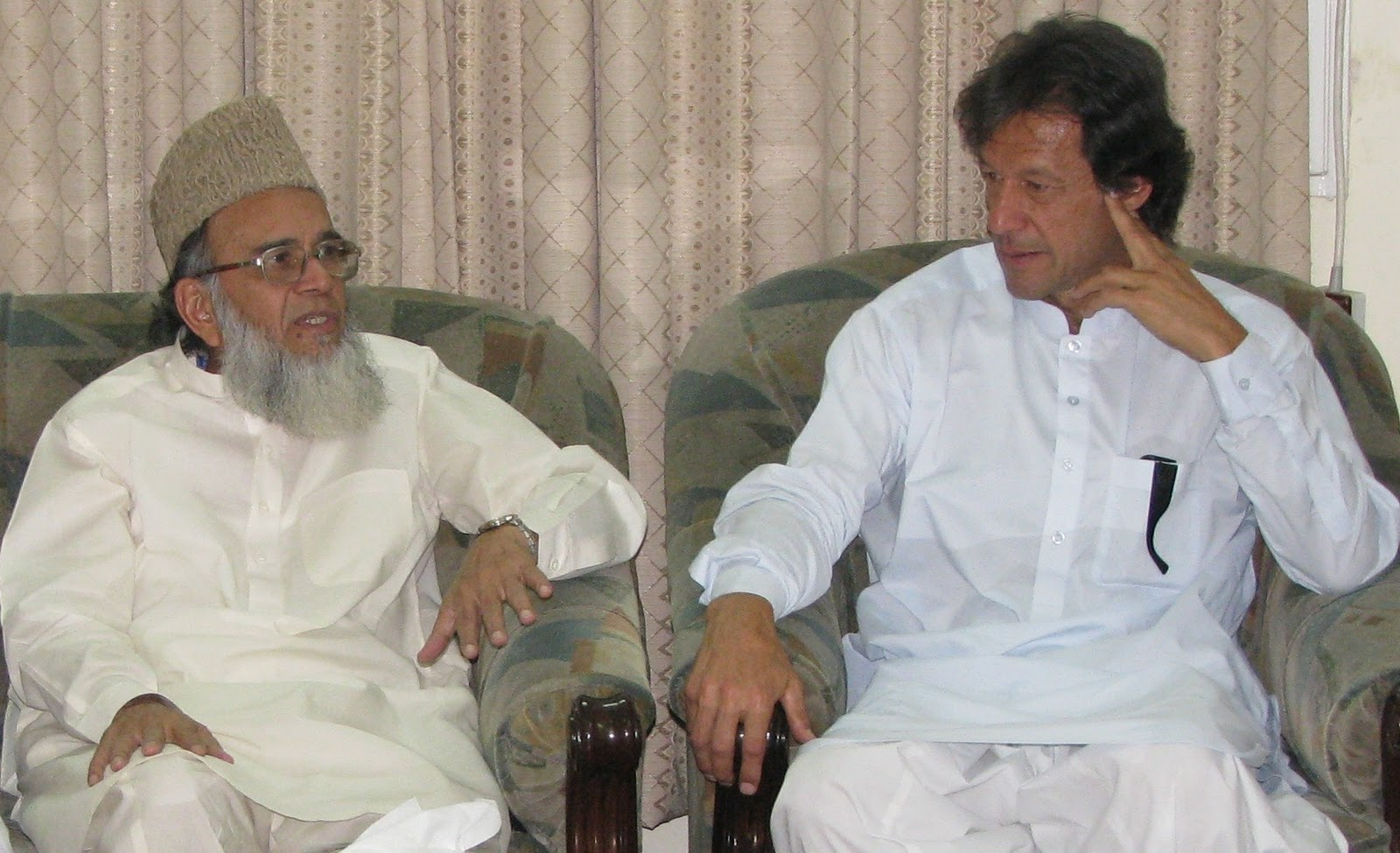 JI's Munawar Hassan an PTI's Imran Khan are two leading US phobes and ISI's puppets in Pakistan