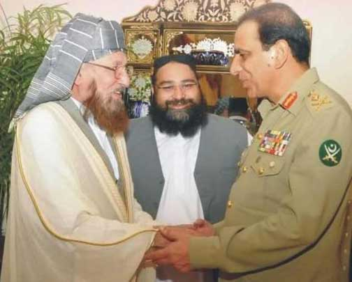 Maulana Samiul Haq Deobandi, Qari Saifullah Akhtar Deobandi, Jamia Binoria, Jamia Haqqania and other Deobandi-Salafist madrassas and militants are Jihadist partners of Pakistan Army.