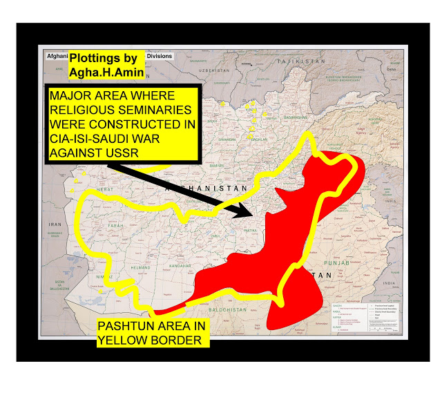 MAJOR AREA WHERE RELIGIOUS SEMINARIES WERE CONSTRUCTED IN CIA-ISI-SAUDI WAR AGAINST USSR
