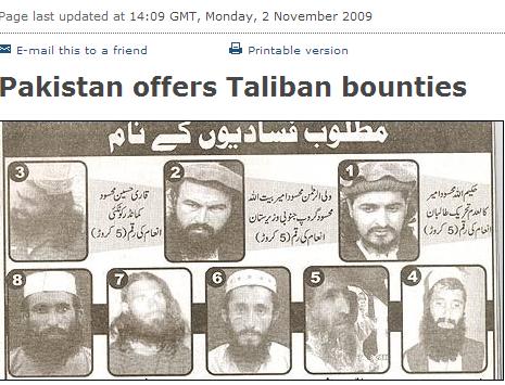 wanted taliban