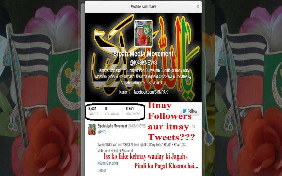 Aswj tweet followers