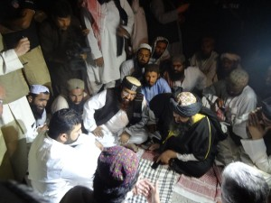 Sarfaraz Bugti Entertaining the Terrorists of ASWJ