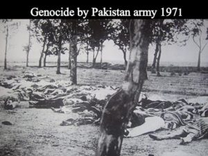 Genocide by Pakistani army in 1971
