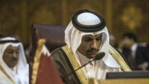 Qatari Foreign Minister Mohammed bin Abdulrahman bin Jassim Al-Thani